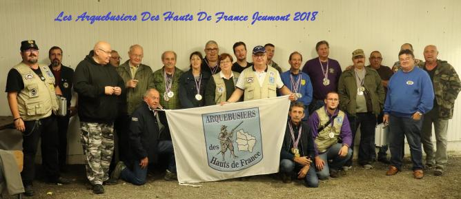 Photos de groupe adhf jeumont 2018 4